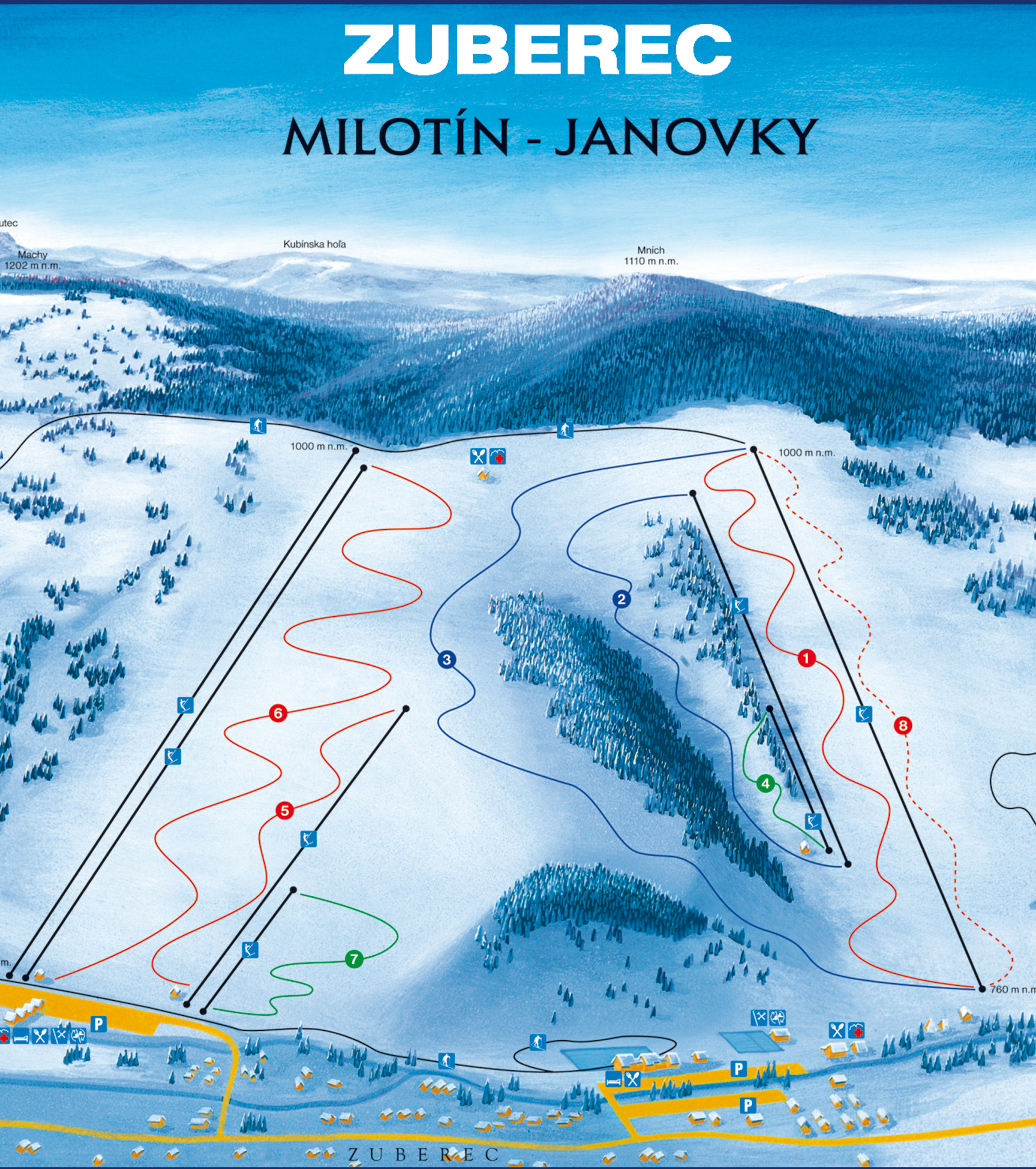 Milotin-Janovki mapka