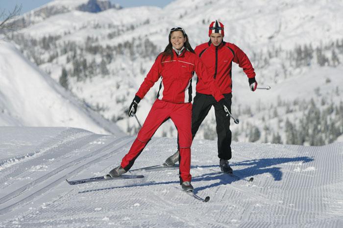 Zimą na biegówkach