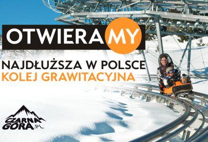 Nowy Alpine Coaster w Czarnej Górze