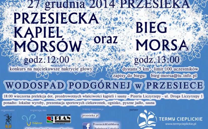 Przesiecka Kąpiel Morsów oraz Bieg Morsa 2014