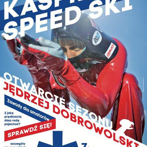 Pobij rekord w zjeździe na nartach z Jędrzejem Dobrowolskim