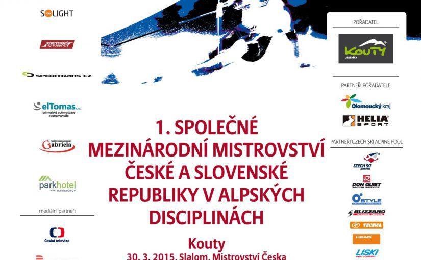 I Krajowe Mistrzostwa w narciarstwie alpejskim Czeskiej i Słowackiej Republiki na Morawach