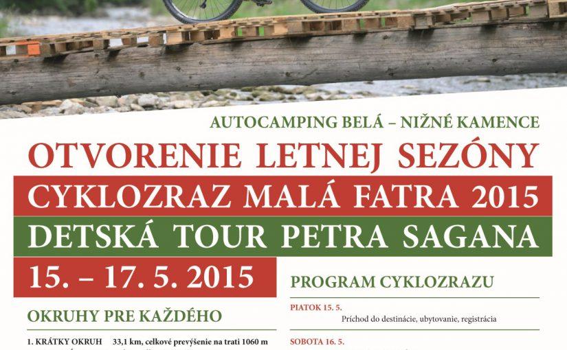 Wielki zlot rowerzystów w Małej Fatrze