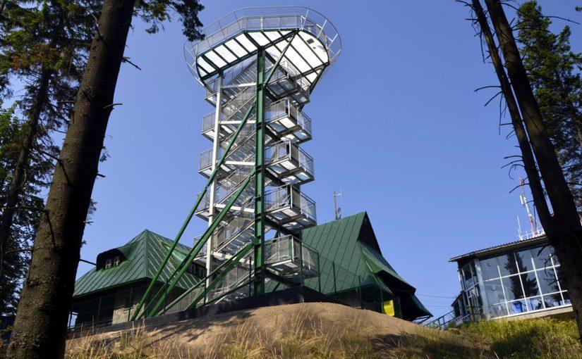 Nowe atrakcje w Bielsku-Białej – wieża widokowa na Szyndzielini oraz singletracki
