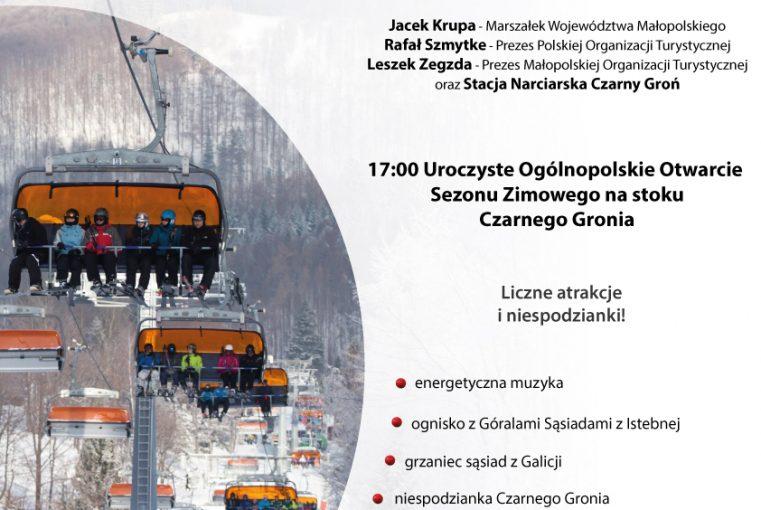 Ogólnopolskie Otwarcie Sezonu Zimowego 2015/2016  12 grudnia w Czarnym Groniu