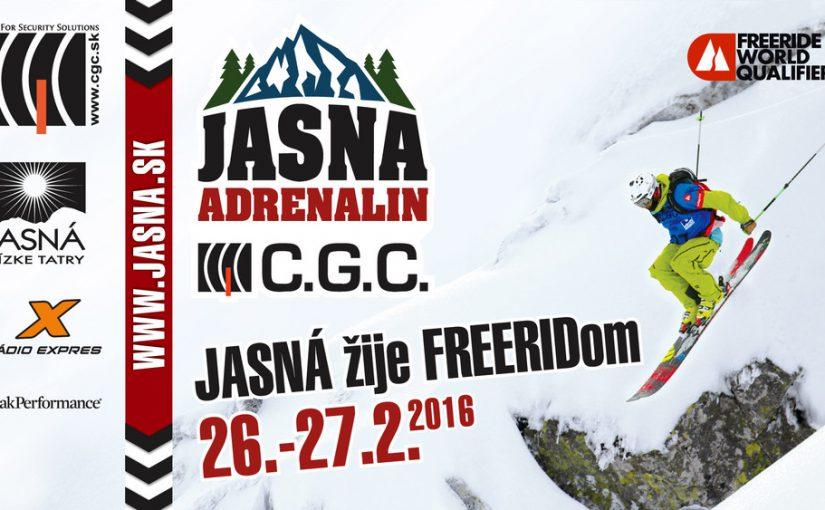 Jasna Adrenalin 2016 w żlebach Lukovej Doliny