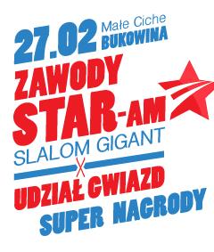 Narty z gwiazdami, czyli pierwsza edycja zawodów STAR-Am