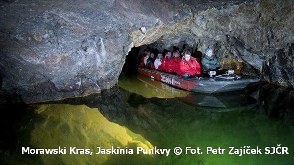 Jaskinie Punkvy otwarte także zimą