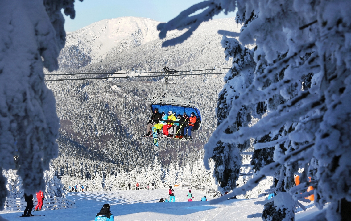 Skiareal Spindleruv Mlyn