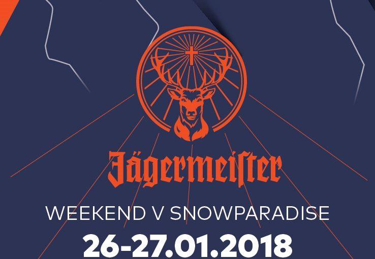 Weekend z Jägermeister w Snowparadise Velka Rača!